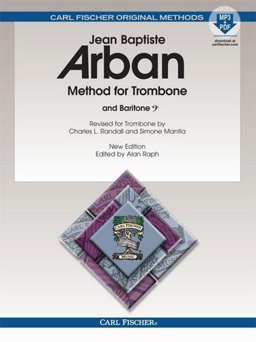 O23X - Arban Method For Trombone & Baritone Book/MP3