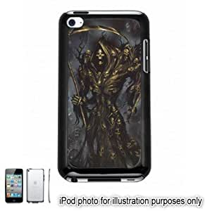 Grim Reaper Skulls Photo Apple iPod 4 Touch Hard Case Cover Shell Black 4th Generation