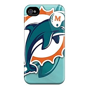 Best Hard Cell-phone Case For iphone 5s With Allow Personal Design Vivid Miami Dolphins Pictures SherriFakhry