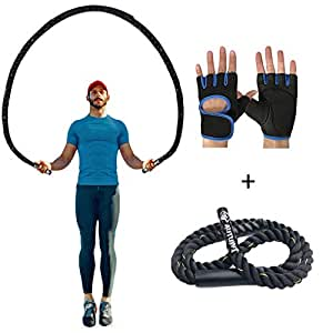 Amazon Com Autuwt Heavy Jump Rope Skipping Rope Workout