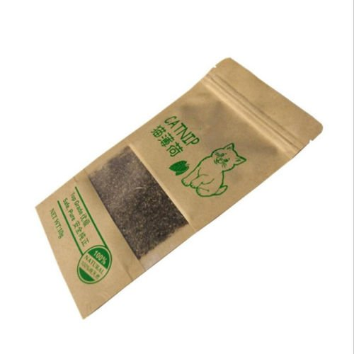 Gozebra(TM) 100% Natural Organic Premium Catnip Catmint Menthol Flavor Cat Treats Funny Toys
