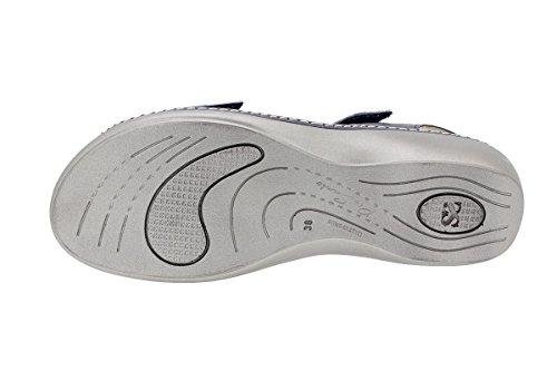 Confort Semelle Sandales Femme À Piesanto Piel 180802 Marino Amovible Chaussure 7E0wq7ZSCx