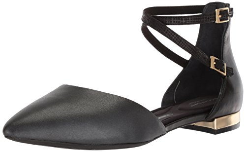 Flat Ballet Adelyn Motion Total Black Ankle Rockport Women's qwYXtXa