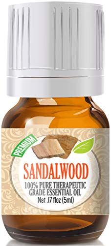 Sandalwood - 100% Pure, Best Therapeutic Grade Essential Oil - 5ml
