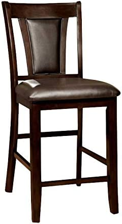 Furniture of America Arena Wood Counter Stool