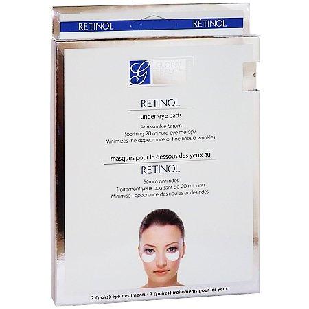 Global Beauty Care - 2 per-pk Retinol Under Eye Pads