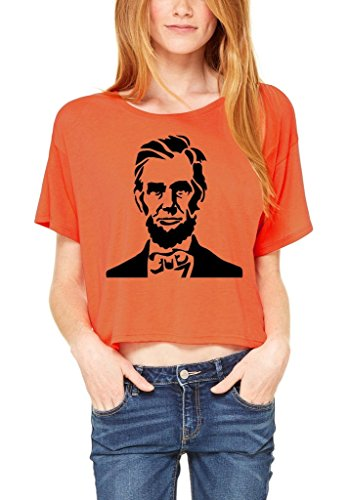 shop4ever-abraham-lincoln-flowy-boxy-t-shirt-16th-president-shirts-medium-coral