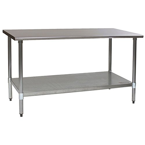Eagle Foodservice T3060B-1X S/S Top 30 x 60'' Work Table by Eagle Foodservice Equipment