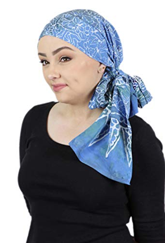 - Head Scarf for Women Cancer Headwear Chemo Scarves Headcover Turban Head Wrap 15