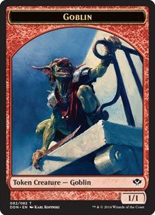 Amazon.com: Magic: The Gathering – Goblin Token (082/082 ...