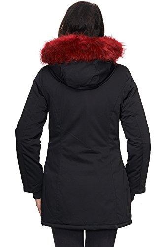 Rock Creek Femme Blouson Selection rouge Noir rr4ZwFnqWx