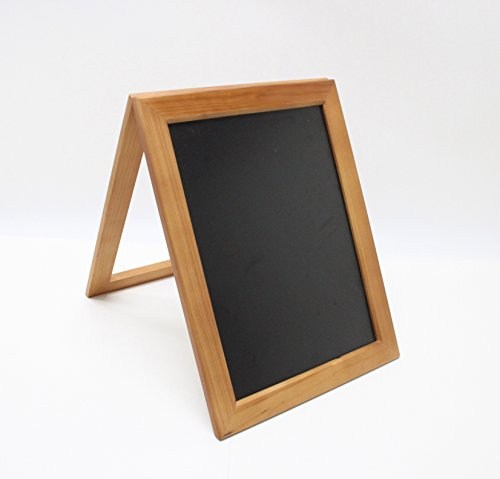 FixtureDisplays 10.6 x 14'' Coutertop Sign A Frame Wood Chalkboard For Wedding Or Small Business 21059! by FixtureDisplays