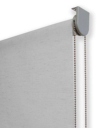 Estor enrollable lino PREMIUM METAL (desde 40 hasta 260cm de ancho) translúcido (permite
