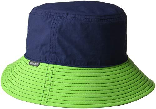 - Columbia Kids & Baby Pixel Grabber Bucket Hat, Collegiate Navy, Cyber Green, Small/Medium