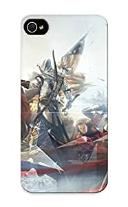 For Iphone Case, High Quality Assassin Creed Iii For Iphone 5/5s Cover Cases / Nice Case For Lovers' Gifts