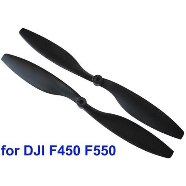 "CCW DJI 10/"" x 4,5/"" Carbon Multikopter Propeller CW"