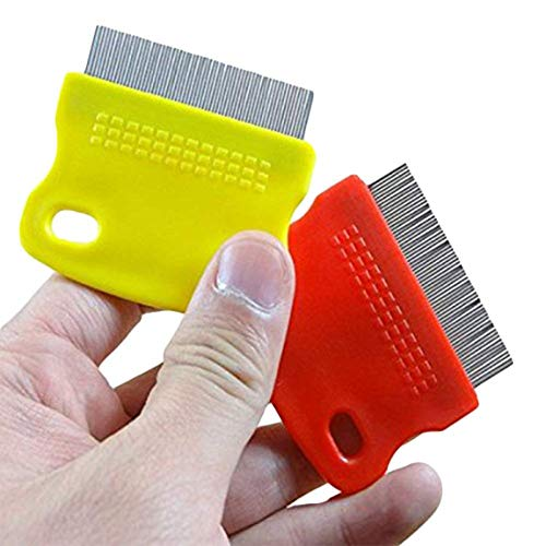 Topbeu 2PCS Pet Dog Cat Flea Combs Fine Teeth Grooming Tool by Topbeu (Image #6)