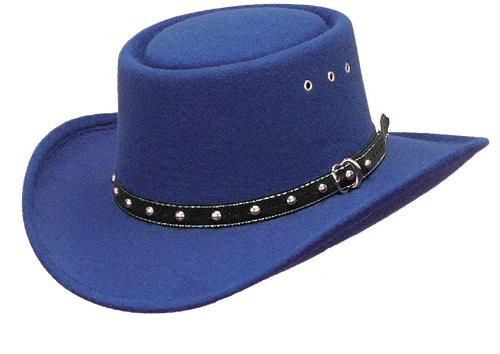 Western Cappello Gambler Cappello da cowboy cappello rodeo blu westexpress