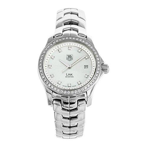TAG Heuer Women's WJF1319.BA0572 Link Diamond Accented Watch (Tag Heuer Womens Diamond Watches)