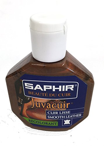(Saphir Juvacuir Liquid Leather Polish 75ml (Hazel))