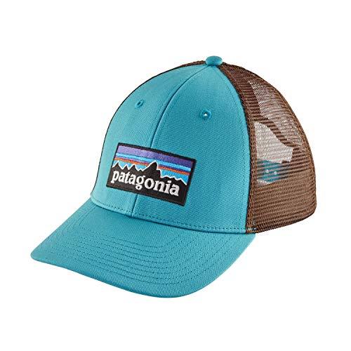 Patagonia P-6 Logo LoPro Snapback Trucker Hat (Mako Blue)