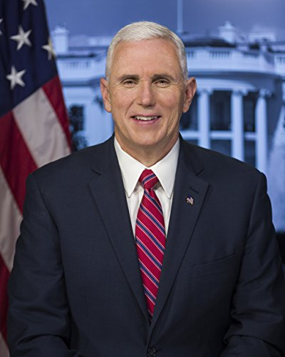 Mike Pence Official Vice Presidential Portrait Photo American Vice Presidents Photos 8X10