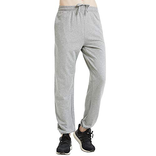 HEYME Men's Lightweight Workout Pants Gym Training Joggers with Side Pockets ()