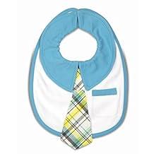 "Itty Bitty & Handsome 38074 Pavilion Gift Company Baby Bib, Sunny Sky, 6"""