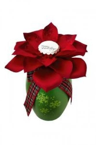 Hallmark Blooming Expressions Happy Holidays Poinsettia