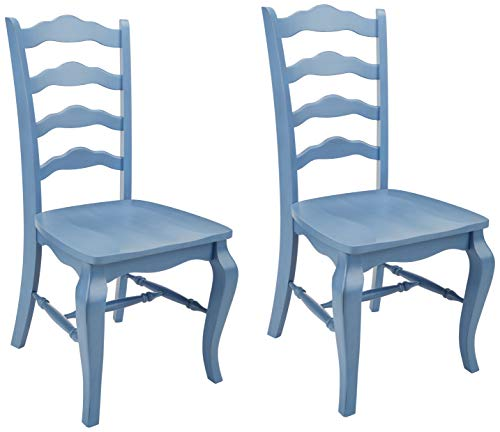 Home Styles Belle Dining Chairs, Blue