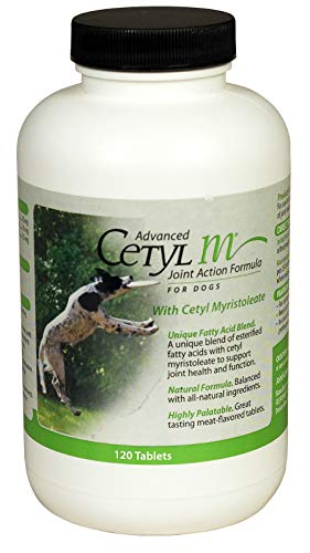 Advanced Cetyl M Joint Action Formula for Dogs (120 Chewable Tablets)