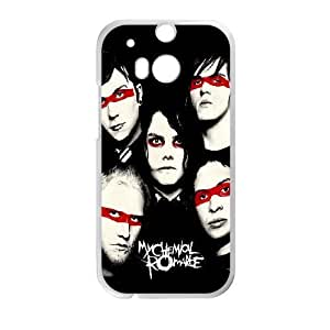HTC One M8 Phone Case Whte My Chemical Romance F6509095