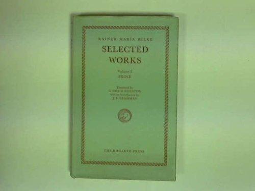 Selected Works; vol. I: Prose.