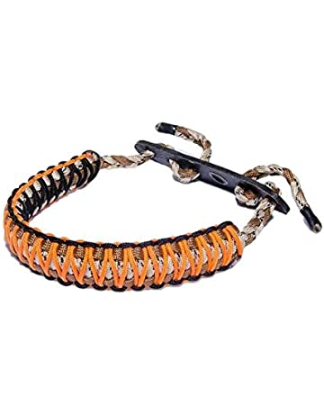 Cr Archery Braided Bow Sling Brown Leather And Nylon Free Same Day Shipping Sale Price Accessories