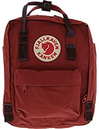FJALLRAVEN KANKEN MINI DEEP RED/RANDOM BLOCK