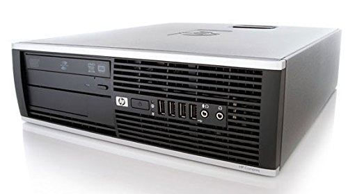 HP Elite 8300 SFF Quad Core i5-3470 3.20GHz 8GB 256GB SSD DVD WiFi Windows 10 Professional Desktop PC Computer With Antivirus (Renewed)