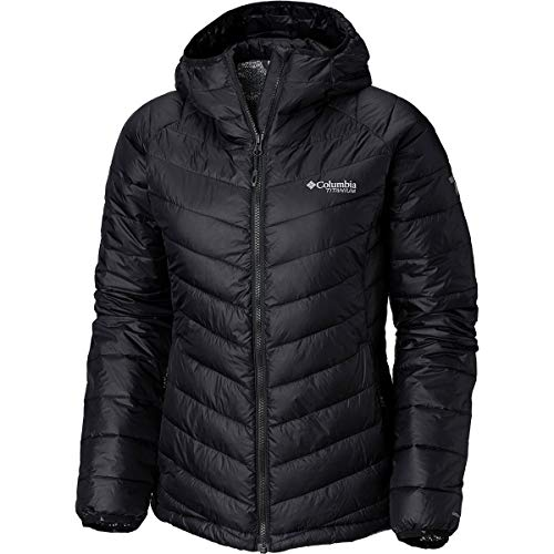 Snow Country - Columbia Titanium Snow Country Hooded Jacket - Women's Black, XS