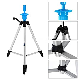 55″ Adjustable Tripod Stand Salon Hair Cosmetology Mannequin Training Head Hold
