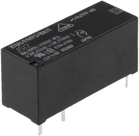 Fujitsu JS-12-MN-KT Printrelais 12 V//DC 10 A 1 Schlie/ßer 1 St.