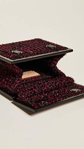 Burgundy Clutch Brown 0711 Women's Copacabana xwvxqPC