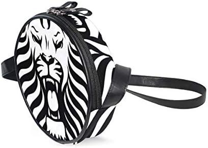 LORONA - Bolso Bandolera con diseño de Tatuaje Tribal de león para ...