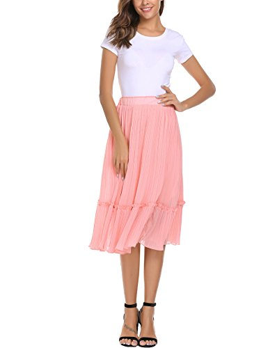 Womens A-line No Pleat Skirt - 8