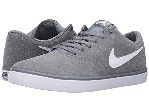 [NIKE(ナイキ)] メンズランニングシューズ?スニーカー?靴 Check Solar Suede Cool Grey/White 9 (27cm) D - Medium