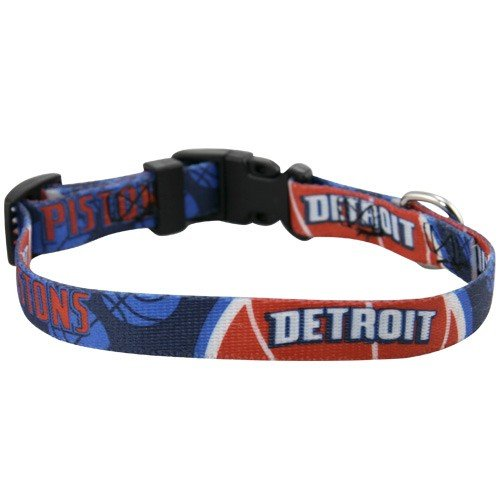NBA Detroit Pistons Dog Collar (Small)