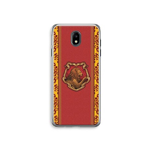 Harry potter Samsung galaxy case c5 c7 j1 j3 j5 j7 a3 a5 a7 2016 2017 case mobile phone case cover glasses castle gryffindor tv clear frame