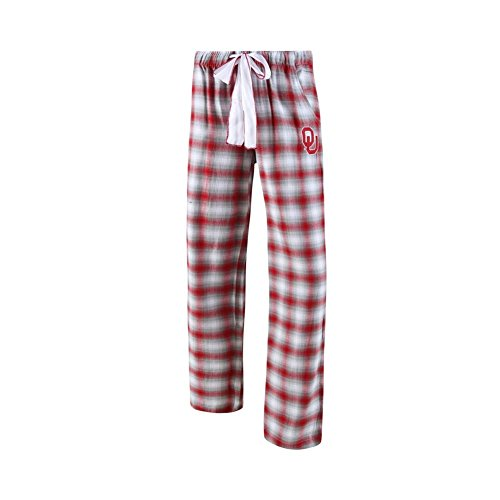 College Concepts NCAA Womens-Forge -Flannel Paid Pajama Pants-Oklahoma (Oklahoma Lady Sooners Basketball)