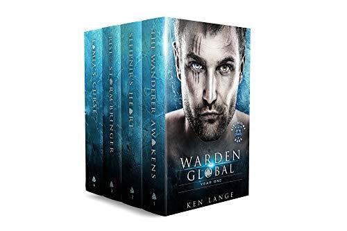 (Warden Global Omnibus Year One: The Wanderer Awakens, Sleipnir's Heart, Rise of the Storm Bringer, Lamia's Curse)