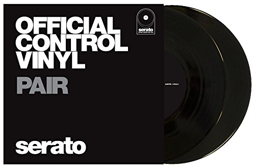 Lowest Prices! Serato Official Control Vinyl 7 'Black' (Pair)