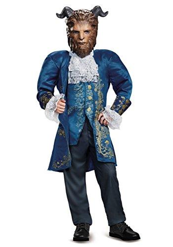 Beast Deluxe Movie Costume, Blue, Medium