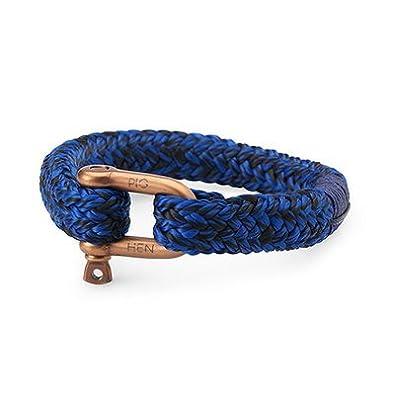 Barato Bob – Pulsera – azul cobalto/bronce: Amazon.es: Joyería